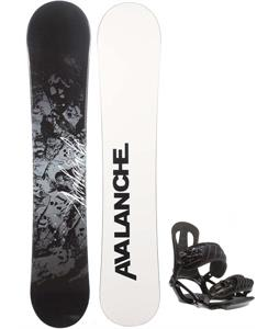 Avalanche Crest Snowboard w/ Head NX One Bindings