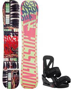 Rossignol Rocknrolla Amptek Snowboard w/ Burton Custom Re:Flex Bindings