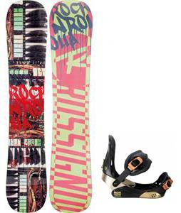 Rossignol Rocknrolla Amptek Snowboard w/ Morrow Invasion Bindings