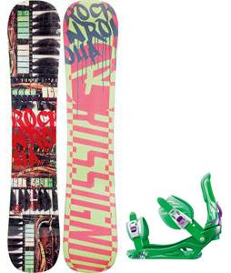 Rossignol Rocknrolla Amptek Snowboard w/  Battle Bindings