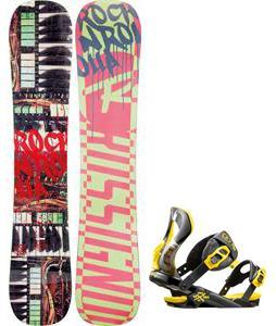 Rossignol Rocknrolla Amptek Snowboard w/  Cobra Bindings