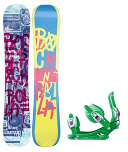 Rossignol Rocknrolla Amptek Snowboard w/  Battle Bindings w/ Rossignol Battle Bindings