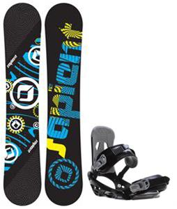 Sapient Cog Snowboard w/  Stash Bindings