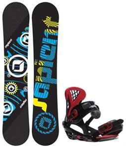 Sapient Cog Snowboard w/  Wisdom Bindings