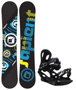 Sapient Cog Snowboard w/ M3 Pivot 4 Bindings