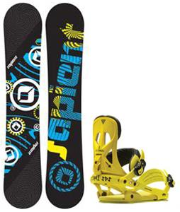 Sapient Cog Snowboard w/ Rome Arsenal Bindings