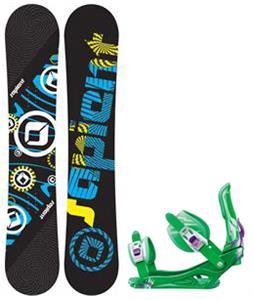 Sapient Cog Snowboard w/ Rossignol Battle Bindings