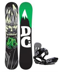 DC Focus Snowboard w/ Avalanche Summit Bindings