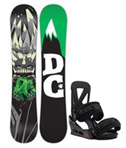 DC Focus Snowboard w/ Burton Custom Re:Flex Bindings
