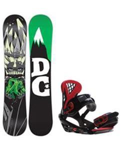 DC Focus Snowboard w/ Sapient Wisdom Bindings
