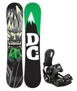 DC Focus Snowboard w/ Gnu Front Door Bindings