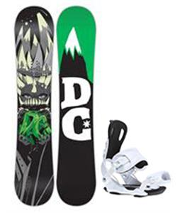 DC Focus Snowboard w/ Gnu Weird Bindings