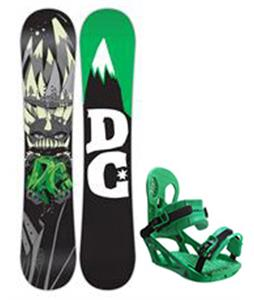 DC Focus Snowboard w/ K2 Indy Bindings