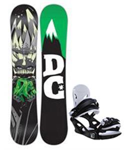 DC Focus Snowboard w/ M3 Helix 3 Bindings