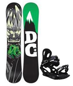 DC Focus Snowboard w/ M3 Pivot 4 Bindings