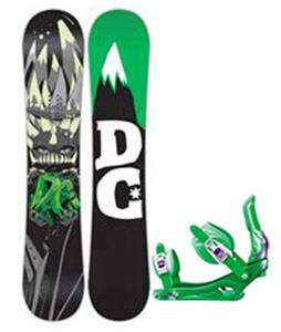 DC Focus Snowboard w/ Rossignol Battle Bindings