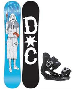 DC PBJ Snowboard w/ Avalanche Summit Bindings