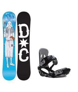 DC PBJ Snowboard w/ Sapient Stash Bindings