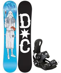 DC PBJ Snowboard w/ Gnu Front Door Bindings