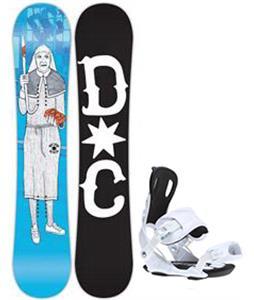 DC PBJ Snowboard w/ Gnu Weird Bindings