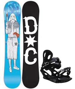 DC PBJ Snowboard w/ M3 Pivot 4 Bindings