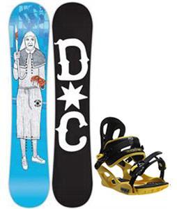 DC PBJ Snowboard w/ M3 Pivot Rockstar Bindings