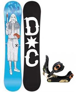 DC PBJ Snowboard w/ Morrow Invasion Bindings