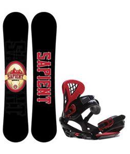 Sapient Wisdom Snowboard w/  Wisdom Bindings