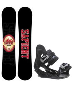 Sapient Wisdom Snowboard w/ Avalanche Summit Bindings