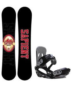 Sapient Wisdom Snowboard w/  Stash Bindings