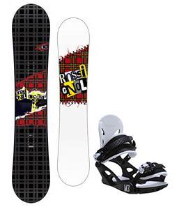 Rossignol Contrast Snowboard w/ M3 Helix 3 Bindings