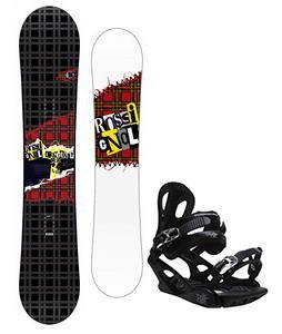Rossignol Contrast Snowboard w/ M3 Pivot 4 Bindings