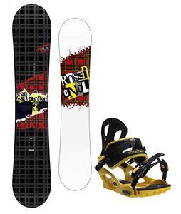 Rossignol Contrast Snowboard w/ M3 Pivot Rockstar Bindings