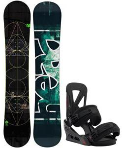 Head True Snowboard w/ Burton Custom Re:Flex Bindings