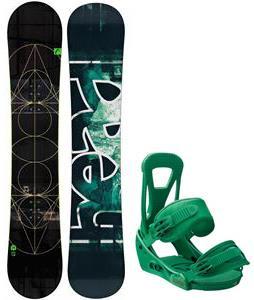 Head True Snowboard w/ Burton Freestyle Bindings