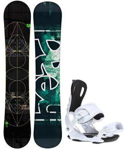 Head True Snowboard w/ Gnu Weird Bindings