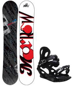 Morrow Fury Snowboard w/ M3 Pivot 4 Bindings