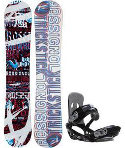 Rossignol Trickstick Amptek Snowboard w/ Sapient Stash Bindings