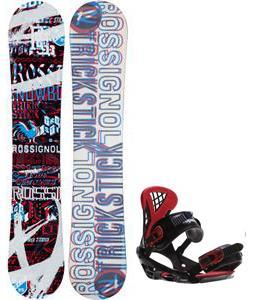 Rossignol Trickstick Amptek Snowboard w/ Sapient Wisdom Bindings