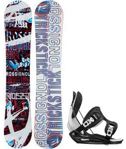 Rossignol Trickstick Amptek Snowboard w/ Flow Flite Bindings