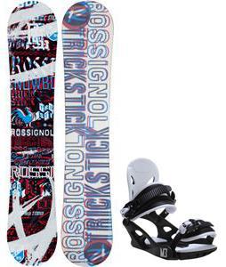 Rossignol Trickstick Amptek Snowboard w/ M3 Helix 3 Bindings