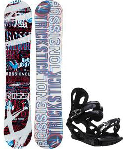 Rossignol Trickstick Amptek Snowboard w/ M3 Pivot 4 Bindings