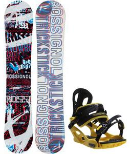Rossignol Trickstick Amptek Snowboard w/ M3 Pivot Rockstar Bindings