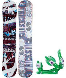 Rossignol Trickstick Amptek Snowboard w/  Battle Bindings