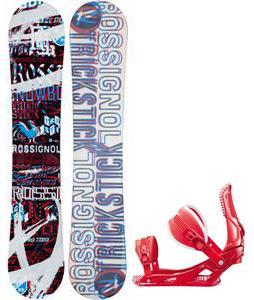 Rossignol Trickstick Amptek Snowboard w/  Cage Bindings