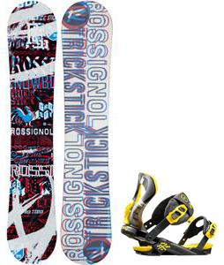 Rossignol Trickstick Amptek Snowboard w/  Cobra Bindings