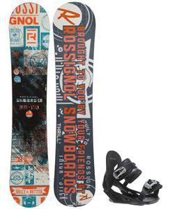 Rossignol Trickstick CYT Amptek Snowboard w/ Avalanche Summit Bindings