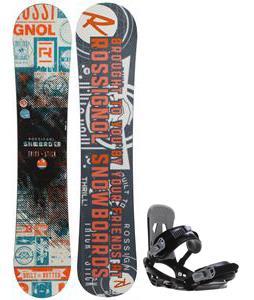 Rossignol Trickstick CYT Amptek Snowboard w/ Sapient Stash Bindings