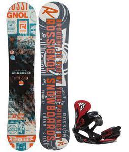 Rossignol Trickstick CYT Amptek Snowboard w/ Sapient Wisdom Bindings