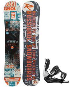 Rossignol Trickstick CYT Amptek Snowboard w/ Flow Flite Bindings